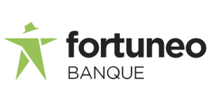 Fortuneo Logo J'aime ma banque.